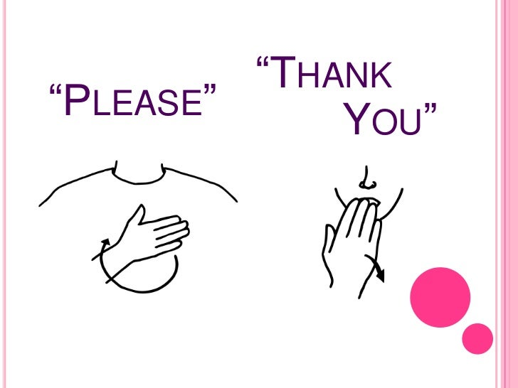 sign language please and thank you street sign wall