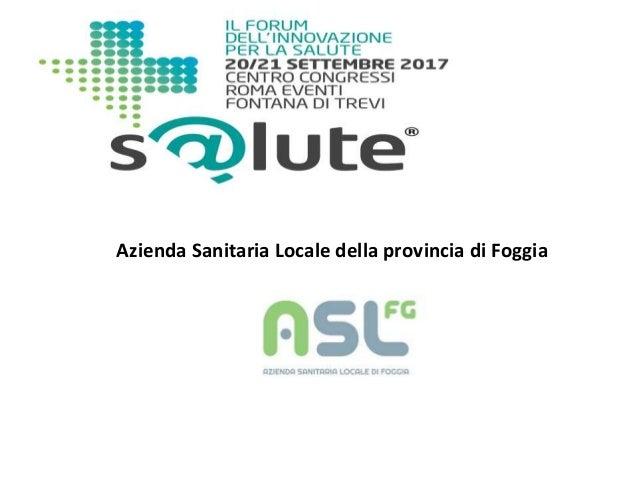 Azienda Sanitaria Locale della provincia di Foggia