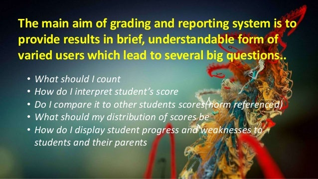assessment of learning grading system powerpoint presentation 2