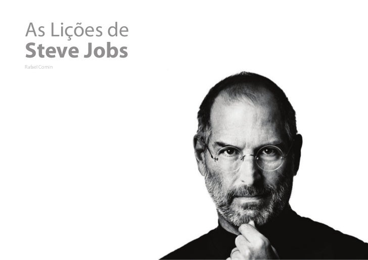 As Lições deSteve JobsRafael Comin