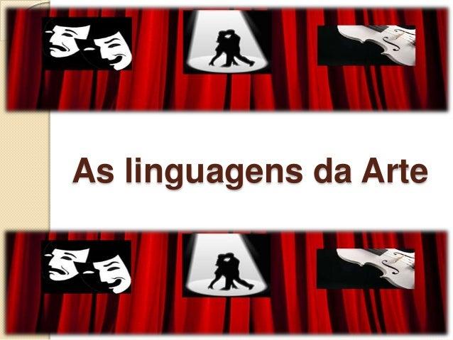 As linguagens da Arte