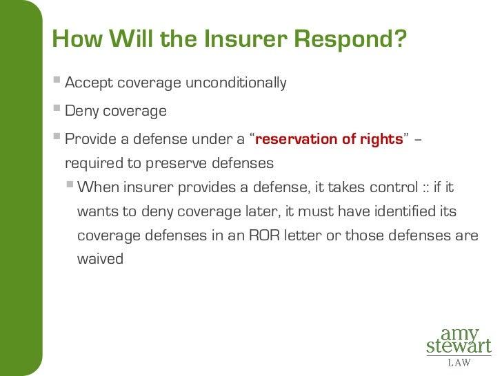 Insurance Coverage For Litigators