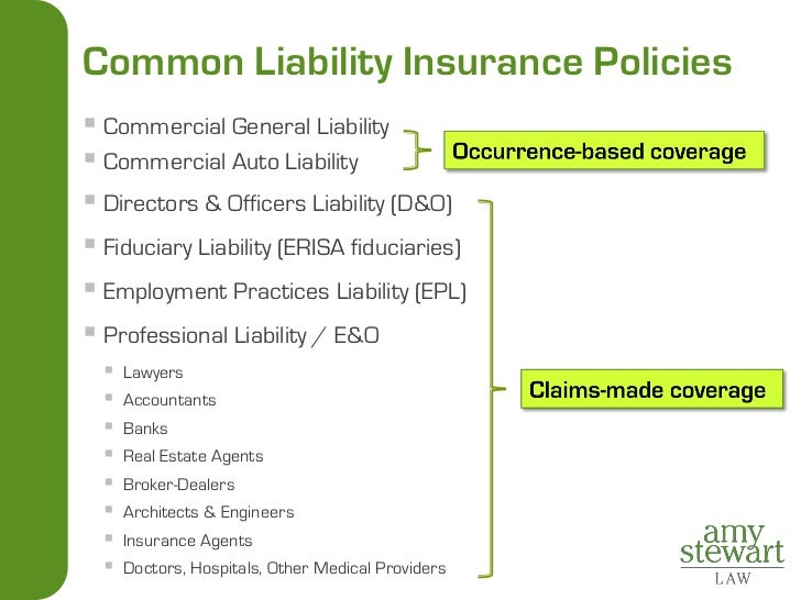 Delicieux 5. Common Liability Insurance ...