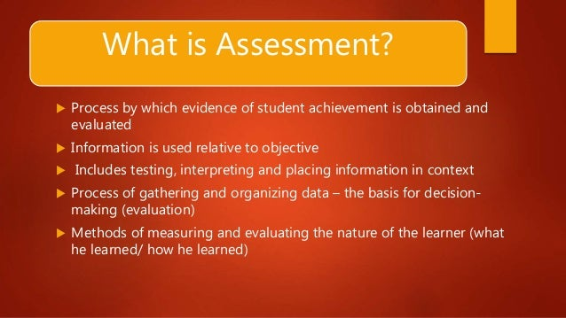 assessment methods 6 Chapter 6 assessment in physical education assessment is a comprehensive process that implies an assessment of the participants and the curriculum with which they interact qualitative and quantitative methods in the assessment of student progress.
