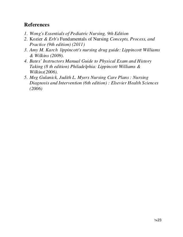 lippincott manual of nursing practice online