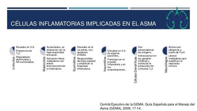 CÉLULAS INFLAMATORIAS IMPLICADAS EN EL ASMA Comité Ejecutivo de la GEMA. Guía Española para el Manejo del Asma (GEMA). 200...