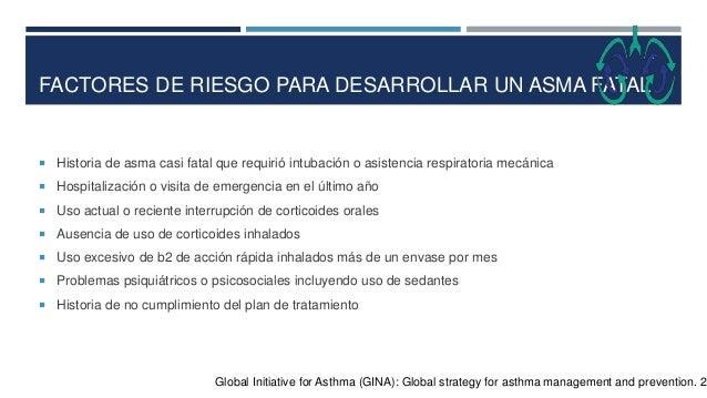 REFERENCÍAS  Comité Ejecutivo de la GEMA. Guía Española para el Manejo del Asma (GEMA). 2009; 17-14.  Gurrola A, Huerta ...