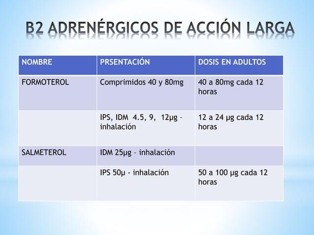 - Inhiben la degranulación de la célula cebada y antagonizan el efecto de la adenosina - Aumenta la contractilidad del mús...