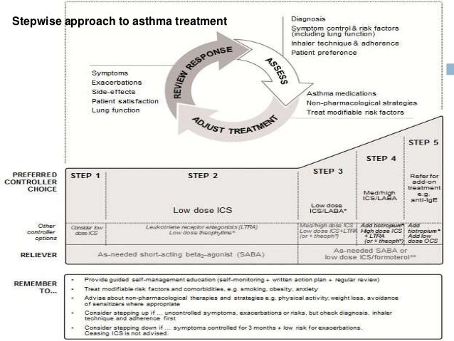 adult asthma exacerbation and treatment guideline