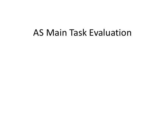 AS Main Task Evaluation