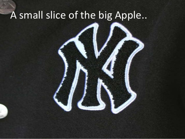 A small slice of the big Apple..