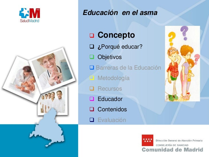 La educaci n del ni o asm tico y su familia for Concepto de la familia para ninos