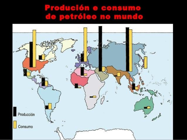 Case un 60 % da enerxía consumida no mundo  depende do petróleo