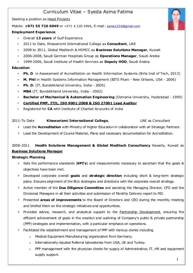 strategy analyst cover letter - asma resume strategy business solutions final