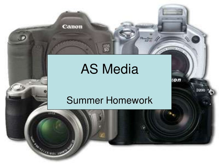 AS MediaSummer Homework
