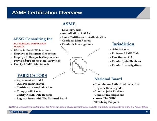 Asme Accreditation Programs