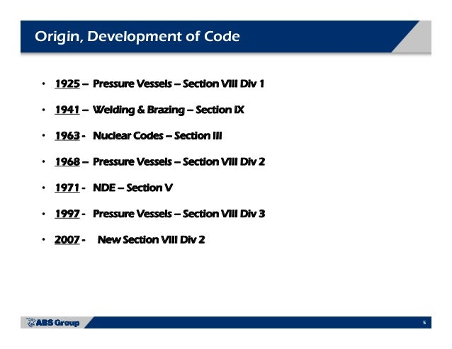 Asme accreditation programs - Asme sec viii div 2 ...
