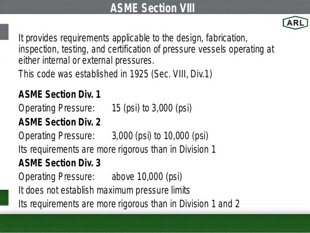how to read asme code