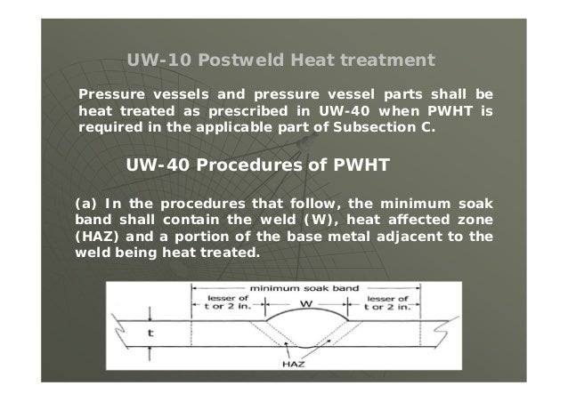 (5) After the finished weld has reached ambient temperature, PT or MT examine the finished weld surface.  If the materia...