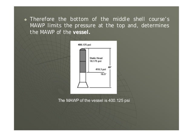 2. Pneumatic Test Step 1 Raise the pressure to ½ the test pressure, ½ x 310 psi = 155 psi, then raise in steps of 1/10 to ...
