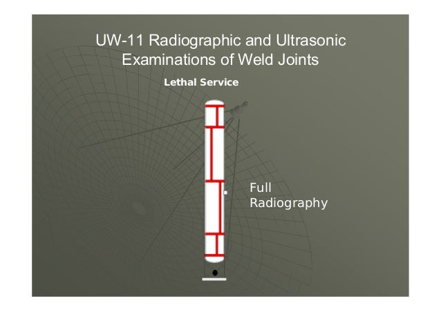 (5) all Category A and D butt welds in vessel sections and heads where the design of the joint or part is based on a joint...