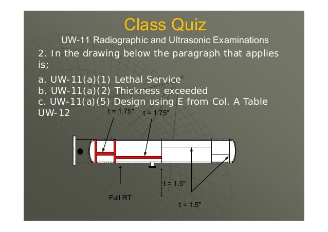  UW-12(a) A value of E not greater than that given in column (a) of Table UW-12 shall be used in the design calculations ...