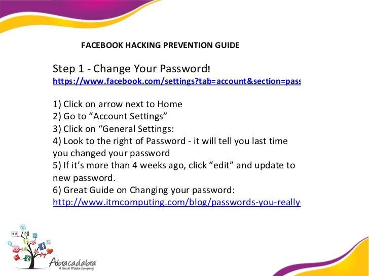 Facebook Anti-Hacking Guide