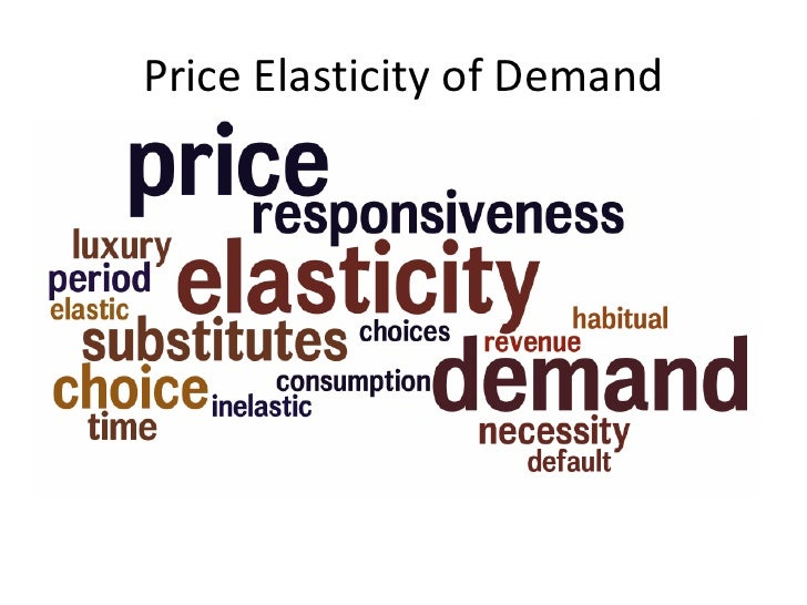 the importance for price elasticity of demand essay The importance of elasticity of supply  you can always make a useful analytical point about the importance of price elasticity  demand elasticity uploaded by.