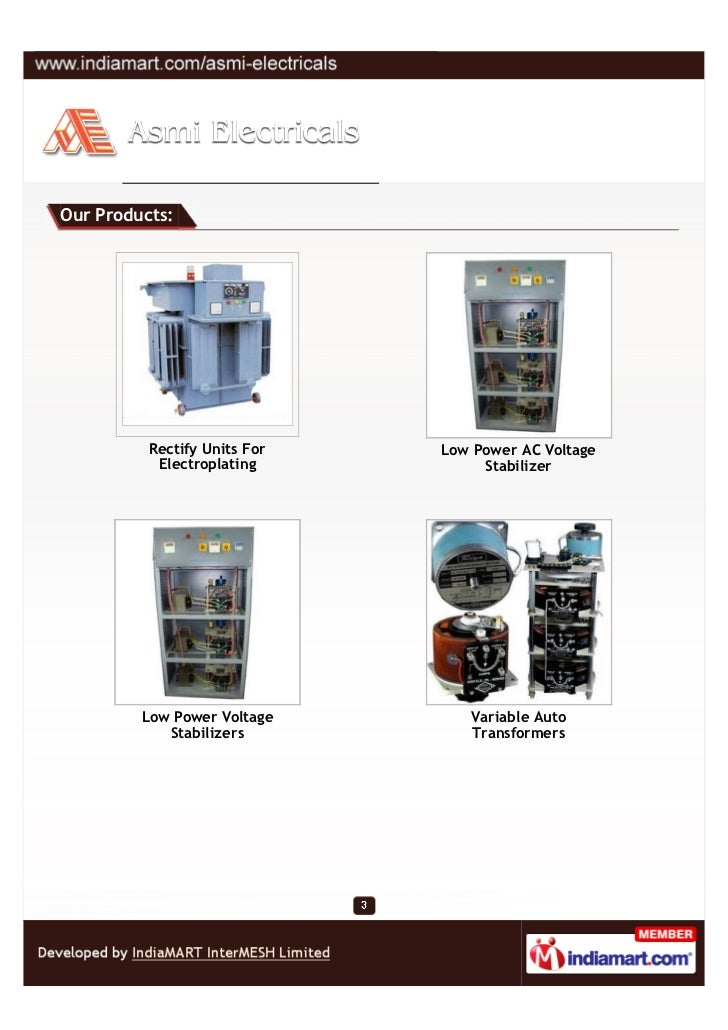 Asmi Electricals, Ahmedabad, Electrical Products Slide 3