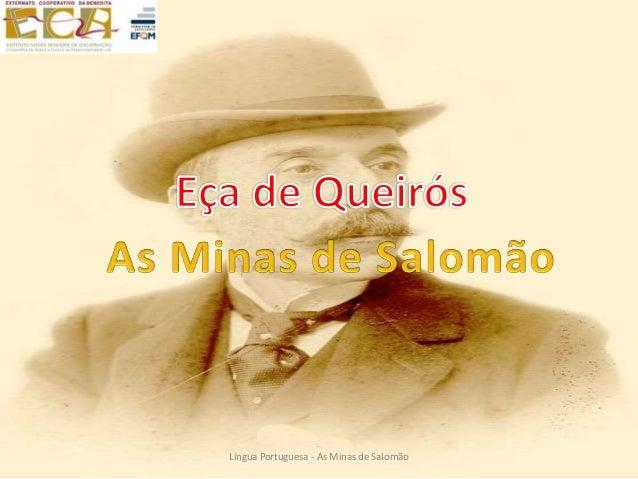 Língua Portuguesa - As Minas de Salomão