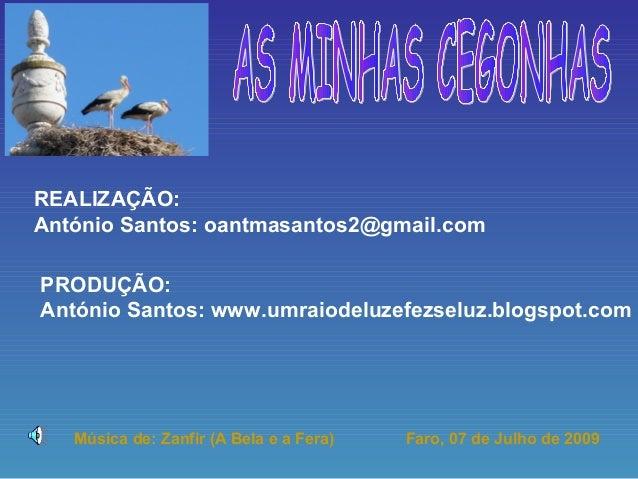 REALIZAÇÃO:António Santos: oantmasantos2@gmail.comPRODUÇÃO:António Santos: www.umraiodeluzefezseluz.blogspot.com   Música ...