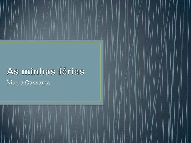 Niurca Cassama