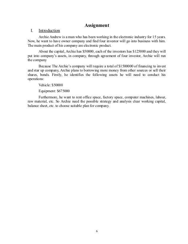 Unit 2 MFRD Business Assignment Help