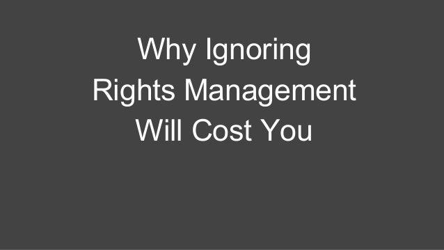 ASMP rights management presentation by Henrik de Gyor Slide 2