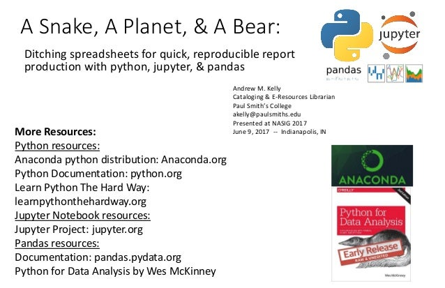 A snake, a planet, and a bear ditching spreadsheets handout1