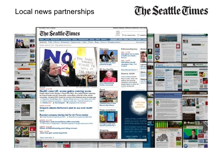 Local news partnerships