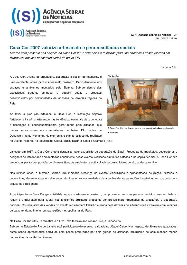 ASN - Agência Sebrae de Notícias - DF                                                                                     ...