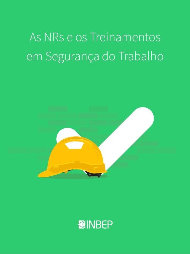 Página 1INBEP - Cursos Online em Segurança do Trabalho As NRs e os  Treinamentos em Segurança ... cab634e78a9e0