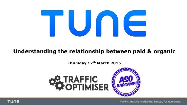 Understanding the relationship between paid & organic Thursday 12th March 2015