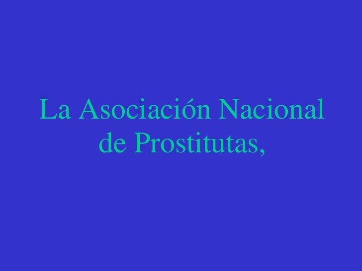 anuncio prostitutas asociacion prostitutas