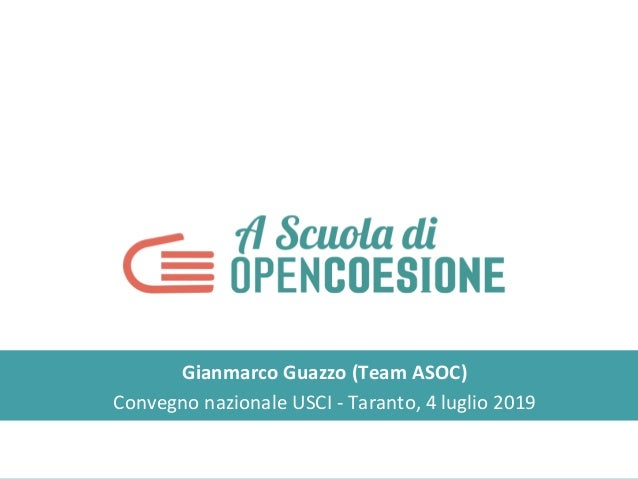 Gianmarco Guazzo (Team ASOC) Convegno nazionale USCI - Taranto, 4 luglio 2019