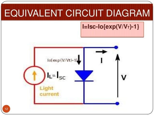 Circuit Diagram Of Solar Cell | A Solar Cell