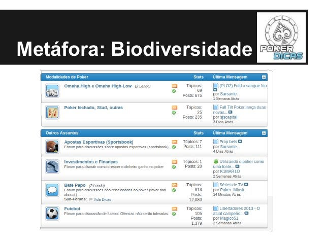 Metáfora: Biodiversidade