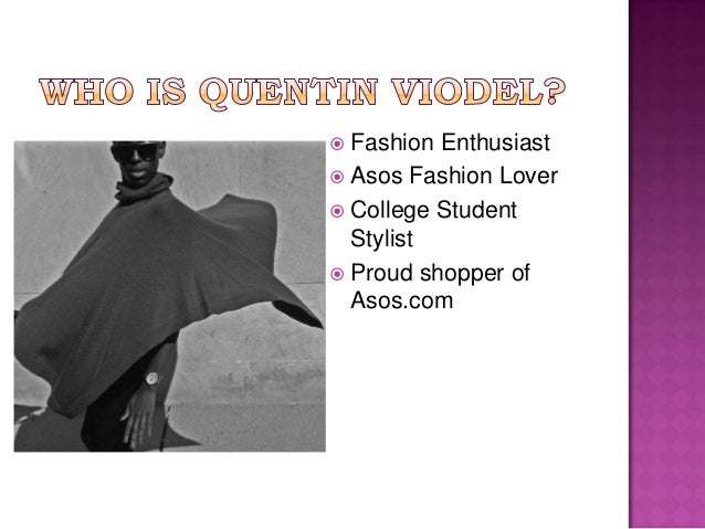 asos presentation Download presentation powerpoint slideshow about 'asos' - gautam an image/link below is provided (as is) to download presentation download policy: content on the website is provided to you as is for your information and personal use and may not be sold / licensed / shared on other websites without getting consent from its author.