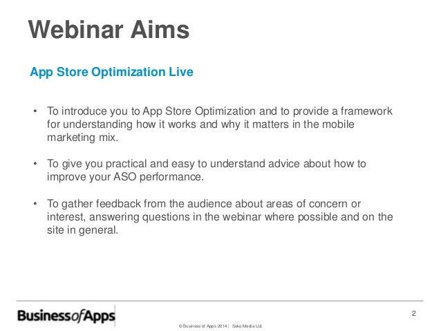 App Store Optimization for iOS Live Slide 2