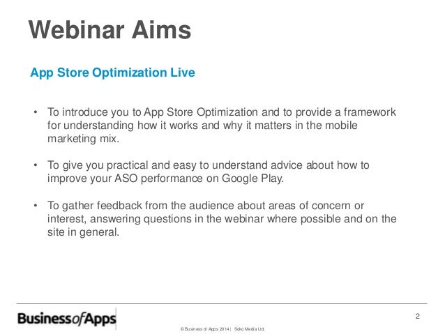 Google Play Android App Store Optimization Slide 2