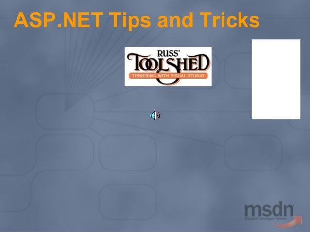 ASP.NET Tips and Tricks