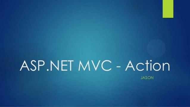 ASP.NET MVC - Action JASON