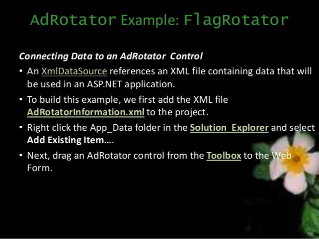 Asp. Net ad rotator.