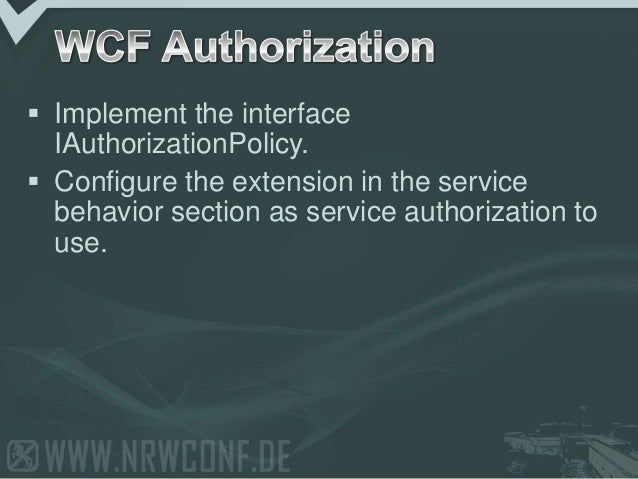 2009 - NRW Conf: (ASP).NET Membership